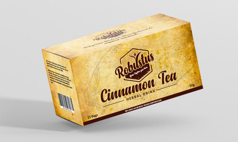 Box Mockup - Robustus Tea
