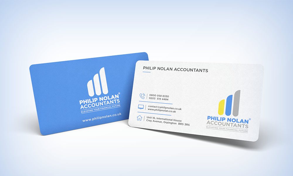 Business Cards - Philip Nolan Accountants