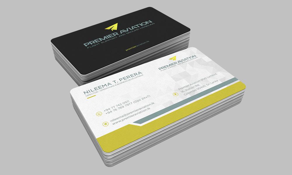 Business Cards - Premier Aviation