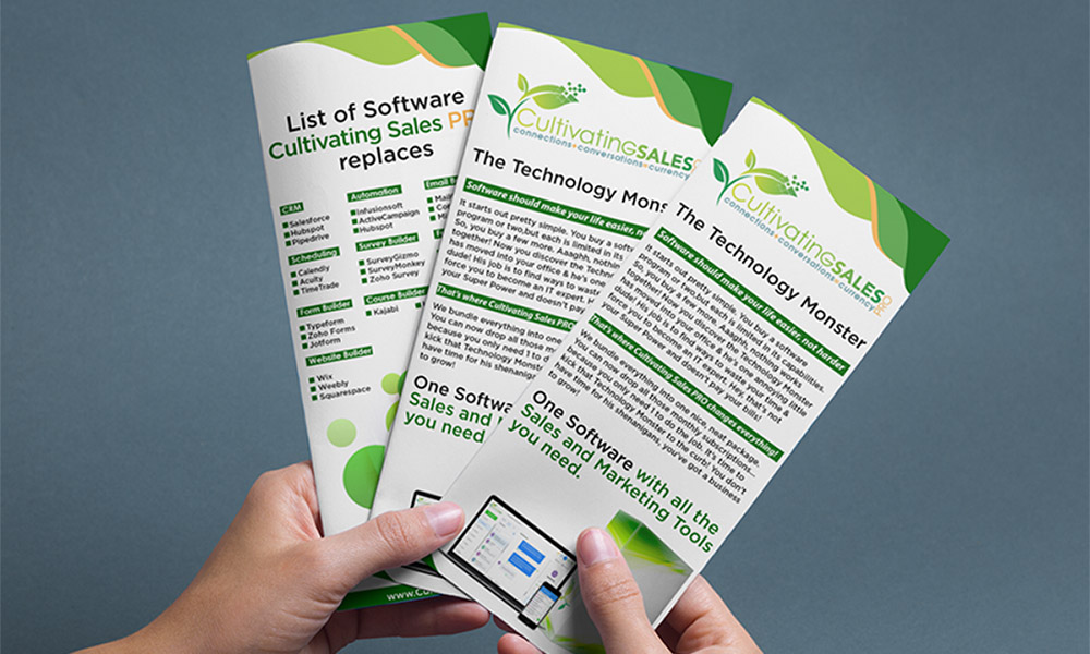 DL Flyer - Cultivating Sales
