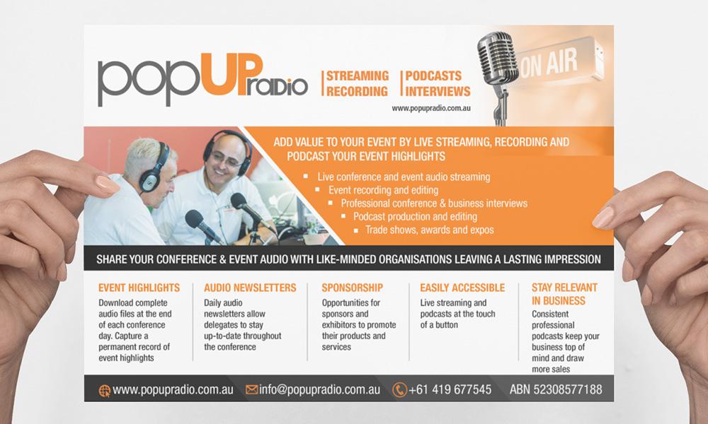 Flyer - Pop UP Radio