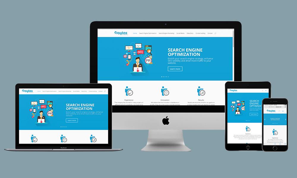 Responsive Web Design - Daytas