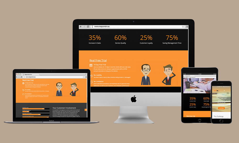 Responsive Web Design - Eezin