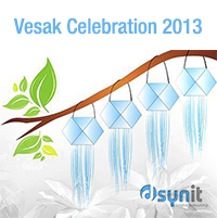 Vesak Celebration at Dsynit