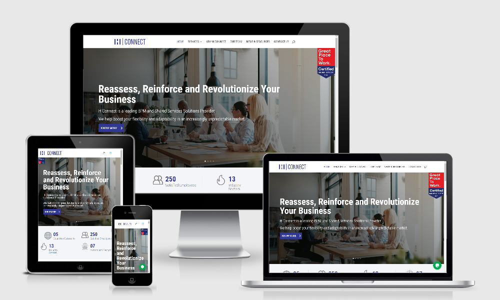 Responsive Web Design - HConnect Pvt Limited